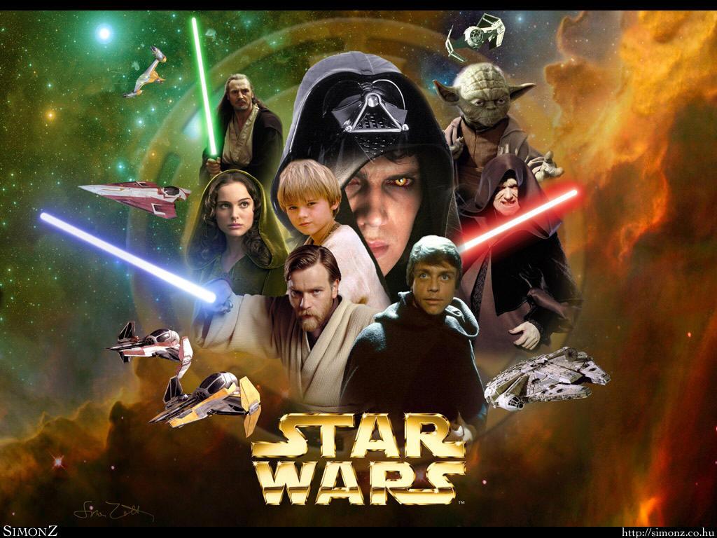 Star Wars desenho ao vivo